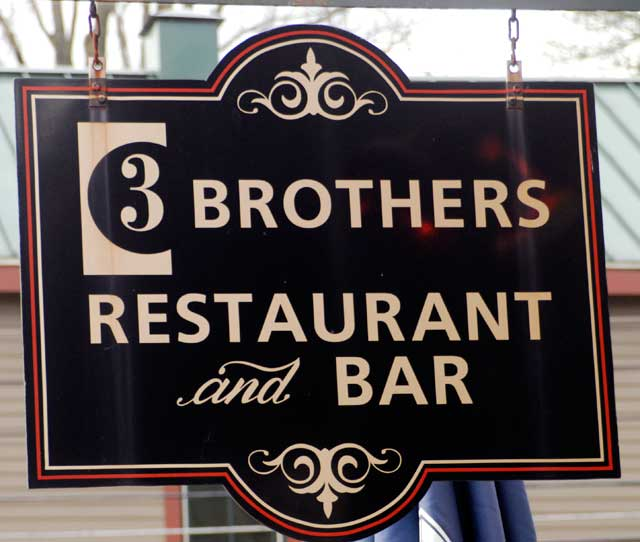 $25 worth of food and drink for only $6 at 3 Brothers Restaurant & Bar