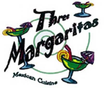 $25 worth of Three Margaritas Food and Drink for only $12