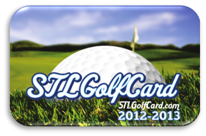 Only $37 for 22 Rounds of Golf at 11 Golf Courses from STLGolfCard.com.   A $760 value!